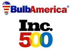 BulbAmerica.com and Inc500 Logos