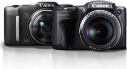 Canon SX500 and SX160 PowerShot Digital Cameras
