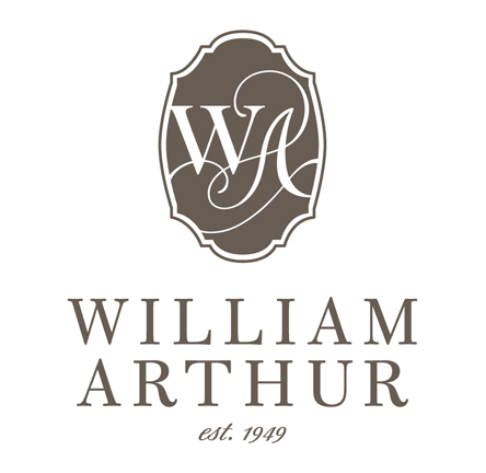 William Arthur Painted Edge Business And Calling Cards