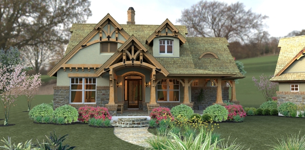 small craftsman cottage house plans on 1500 sq ft house plans with wrap around porch
