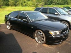 Police seized BMW