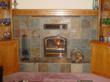 High-Efficiency Wood-Burning Fireplace
