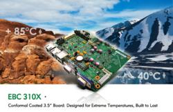 "EBC 310X 3.5"" Embedded Board Designed for Harsh Environments"