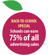Back-to-School Promotion Schools earn 75% of sales
