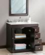 "Virtu LS-1039 - Modena 36"" - Bathroom Vanity In Espresso"