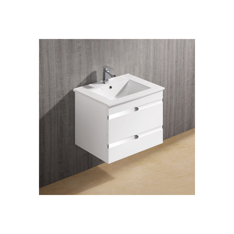 Vigo Vg09030001k1 24 Inch Ethereal Duece Single Bathroom Vanity