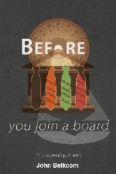 """""""Before You Join a Board: 21 Essential Questions"""" by John Balkcom"""