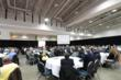 Crowds listen to speakers at National BIM Conference