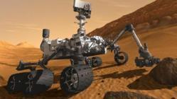 Mars Curiosity Image