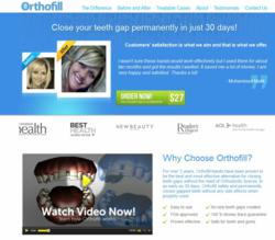 New Orthofill Homepage