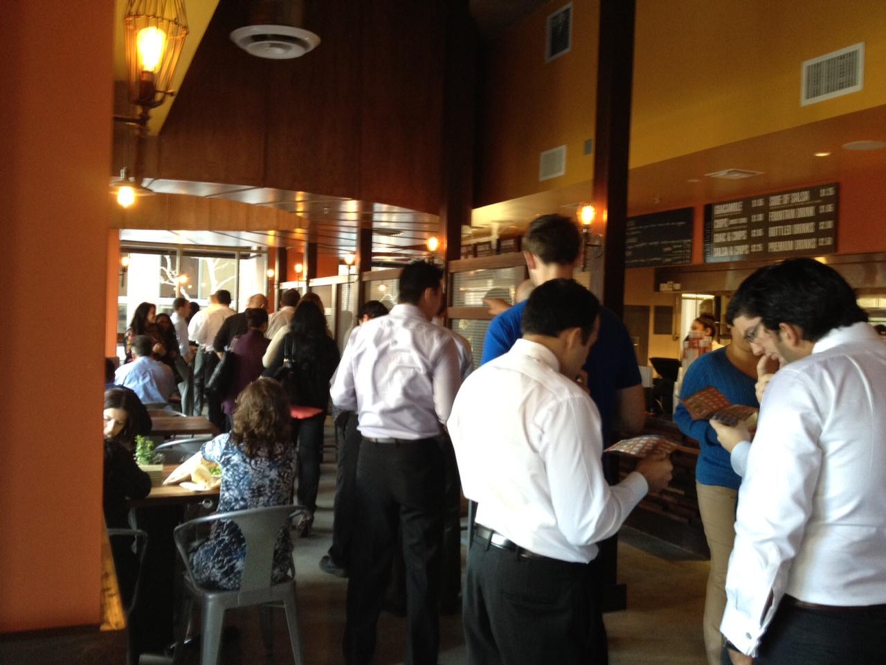 Ocho Mexican Restaurant Downtown Los Angeles