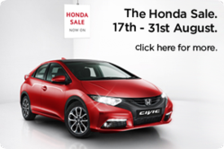 The Hendy Honda Sale