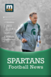 Michigan State Spartans Football News app