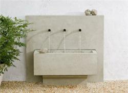 X3 Modern Garden Fountain