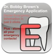 Dr. Bobby Brown's Dental Emergency App