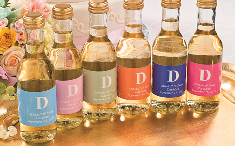 Bottle Labels Personalized Freegive Your Wedding A Touch With Custom