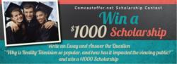 $1000 College Scolarshop Contest.