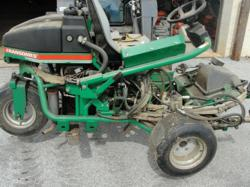 lawn mower for auction