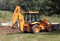 Clog Pro excavating