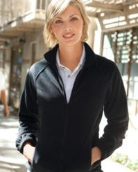 Harriton M990W Women's Full-Zip Fleece Jacket