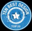 10 Best Design Site Badge