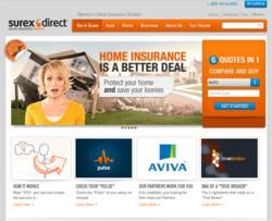 Surex Direct's website interface