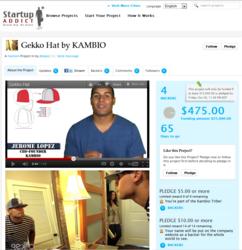 Crowdfunding - Gekko Sports Hat