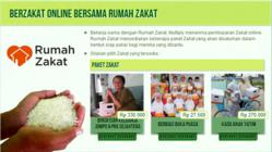Online Marketplace Multiply Partners with Rumah Zakat for Donation Programs