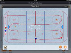Hockey DrillBuilder for iPad