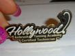 Hollywood Airbrush Tanning Academy Pin