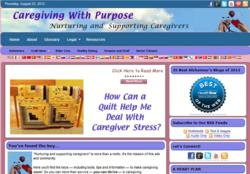 CaregivingWithPurpose.com screenshot