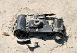 Sand can cause significant damage to delicate camera equipment