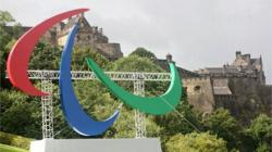 Giant Paralympic Agitos Launched in Edinburgh