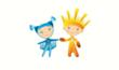 Ray of Light and Snowflake Mascots Set to Inspire Paralympic Athletes...