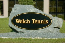 welch tennis court construction