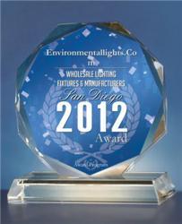 EnvironmentalLights.com San Diego Award