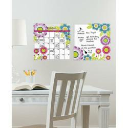 Peel and Stick Calendar and Whiteboard