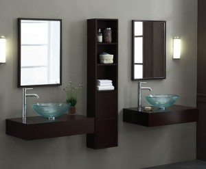 A Guide To Wall Mounted Double Bathroom Vanities For The