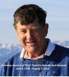 Thrift Town Co-Founder Bud Norquist