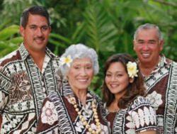 Smiths Family Luau
