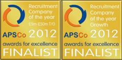 Selby Jennings are Finalists for 2 APSCo Awards 2012