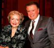 Betty White and Regis Philbin