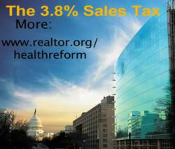NAR On The 3.8% Home Sales Surtax