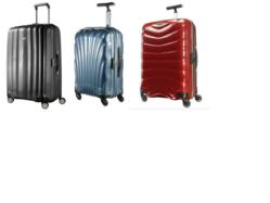 luggage with Curv technology
