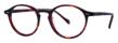 The Brunswick Semi-Round Tortoise Eyeglass Frame