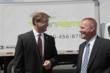 U.S. Senator Dean Heller Discuss OnRamp's North Las Vegas Facility With Travis Johnson, VP Operations for OnRamp Transportation Services