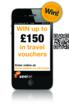 Image of seeker travel competition mobile mobile phone and QR code