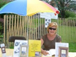 Author, Linda Maria Frank at The Ocean Beach Arts and Crafts Fair