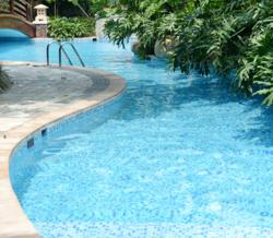 Clean pool from Apcan GSG Hydro line of Chlorine Free Pool Maintenance products