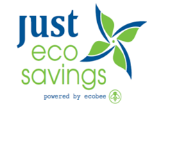 just eco savings logo